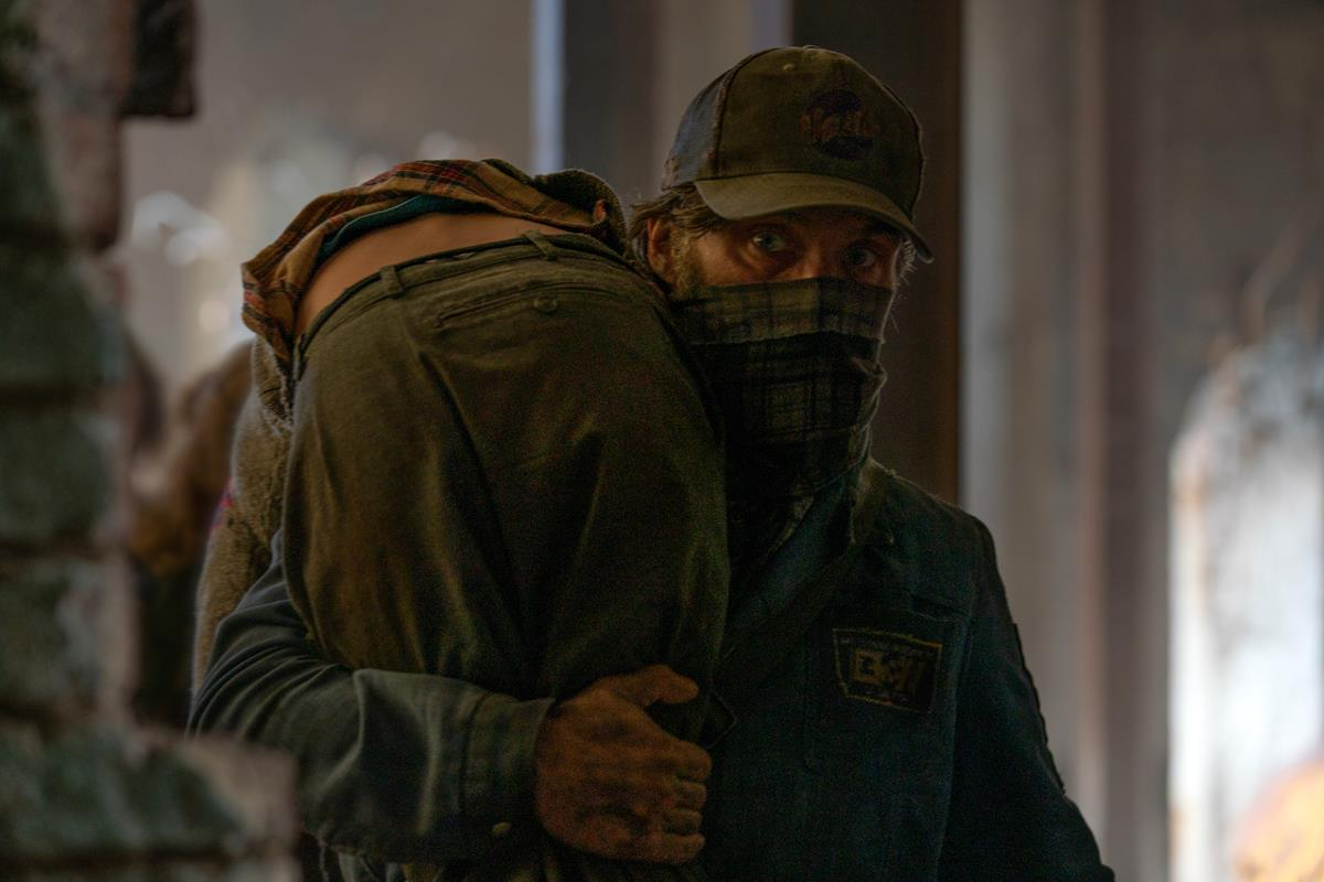 """Emmett (Cillian Murphy) braves the unknown in """"A Quiet Place Part II."""" Cr: Paramount Pictures"""