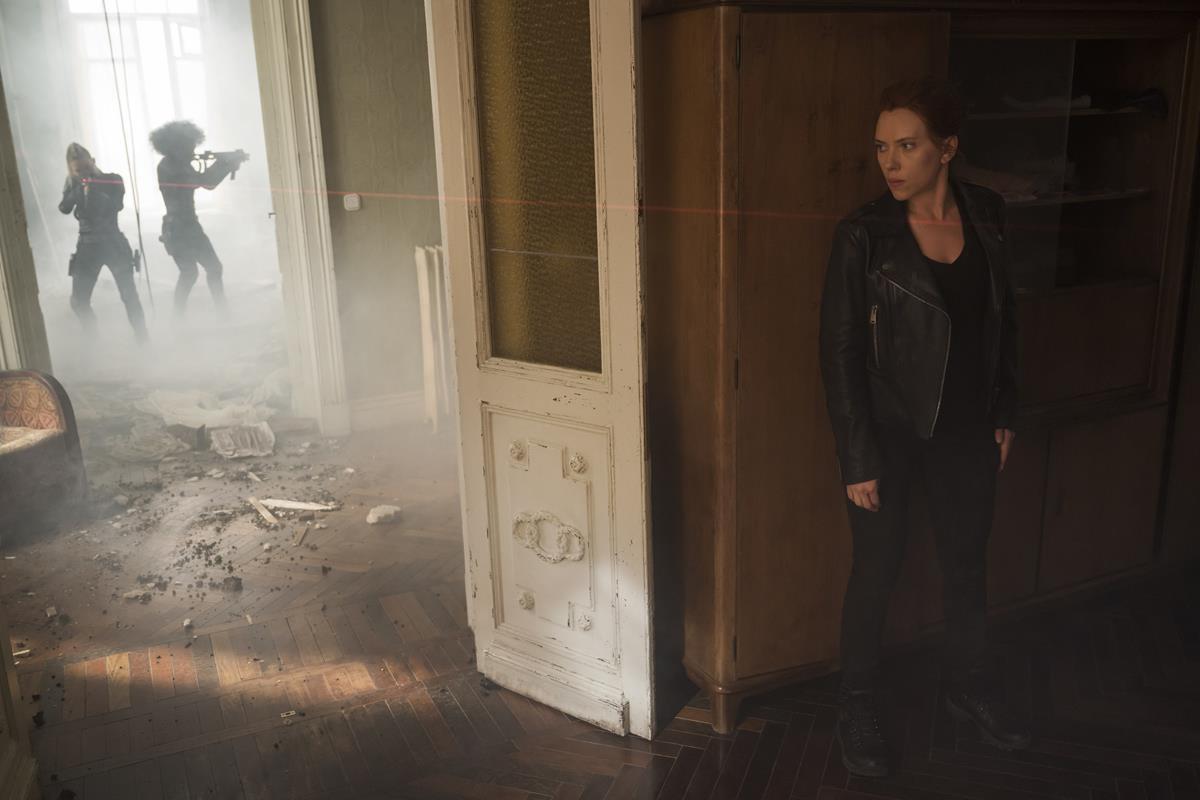 "Scarlett Johansson as Natasha Romanoff/Black Widow in Marvel's ""Black Widow."" Cr: Marvel Studios"