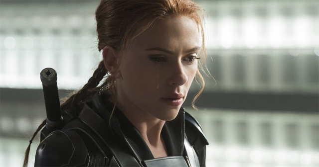 """Scarlett Johansson as Black Widow/Natasha Romanoff in Marvel Studios' """"Black Widow,"""" available as a premium rental for Disney+ members, alongside its theatrical release. Photo by Jay Maidment. ©Marvel Studios 2020. All Rights Reserved."""