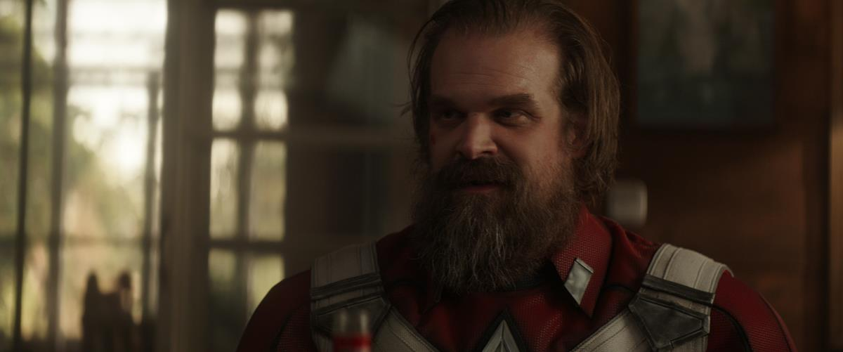 "David Harbour as Alexi Shostakov/Red Guardian in Marvel's ""Black Widow."" Cr: Marvel Studios"