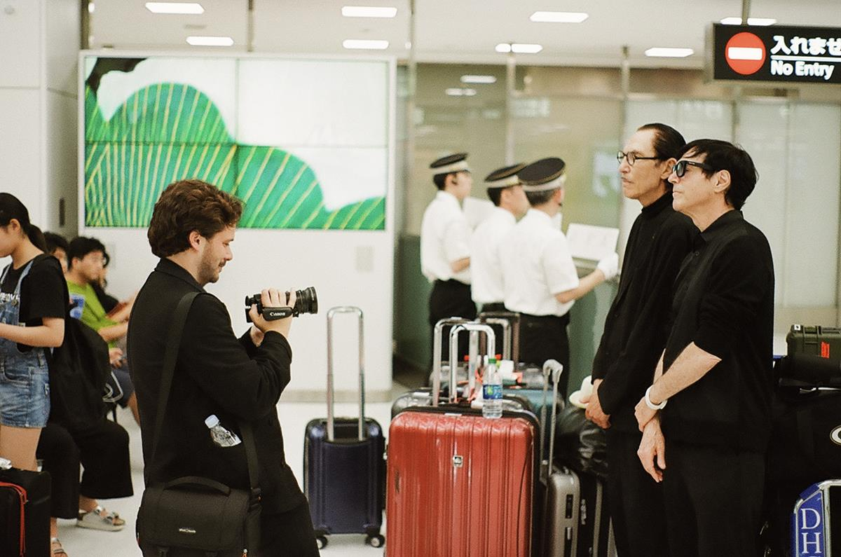 """Russell Mael and Ron Mael in """"The Sparks Brothers."""" Cr: Focus Features"""