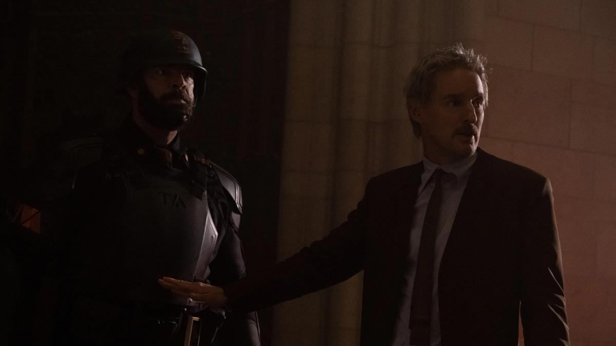 "Mobius (Owen Wilson) in Marvel Studios' in Episode 1 of Marvel Studios' ""Loki."" Cr: Chuck Zlotnick/Marvel Studios"