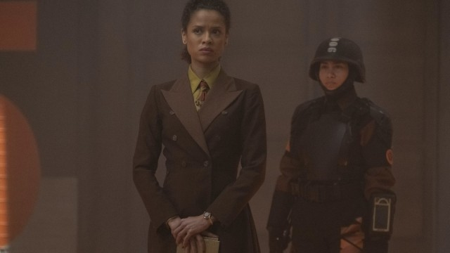 "Judge Renslayer (Gugu Mbatha-Raw) in Episode 4 of Marvel Studios' ""Loki."" Cr: Marvel Studios"