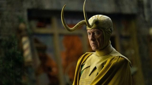 """Classic Loki (Richard E. Grant) in Episode 5 of Marvel Studios' """"Loki."""" Cr: Chuck Zlotnick/Marvel Studios"""