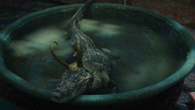 """Alligator Loki in Episode 5 of Marvel Studios' """"Loki."""" Cr: Marvel Studios"""