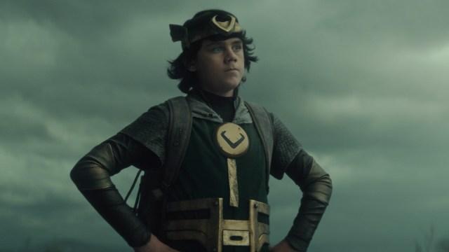 """Kid Loki (Jack Veal) in Episode 5 of Marvel Studios' """"Loki."""" Cr: Marvel Studios"""
