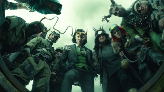 """President Loki (Tom Hiddleston) in Episode 5 of Marvel Studios' """"Loki."""" Cr: Marvel Studios"""