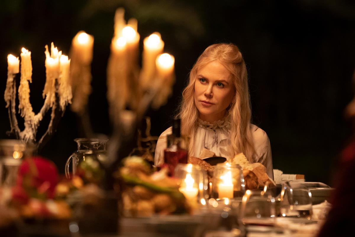 "Nicole Kidman as Masha in Episode 4 of ""Nine Perfect Strangers."" Cr: Vince Valitutti/Hulu"