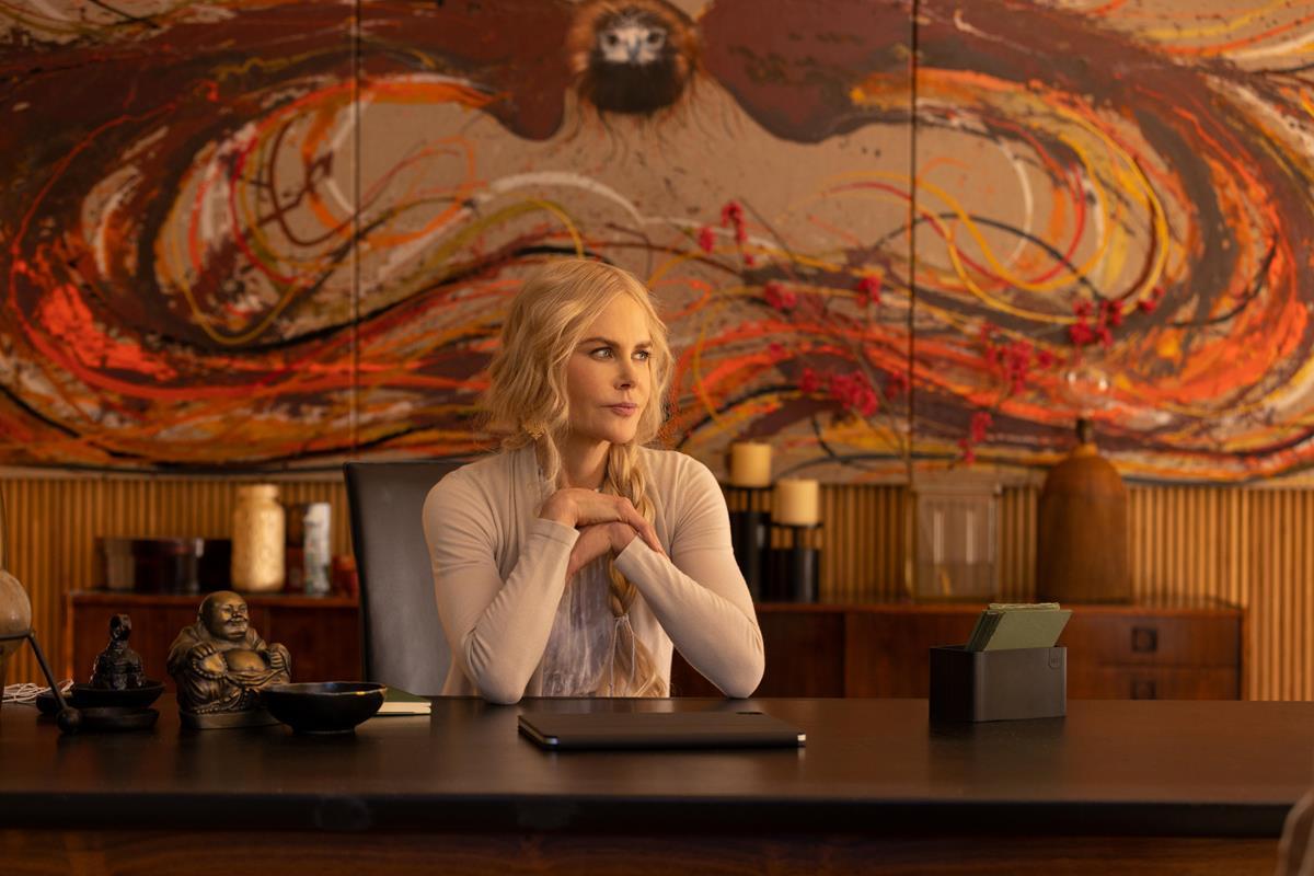 "Nicole Kidman as Masha in Episode 2 of ""Nine Perfect Strangers."" Cr: Vince Valitutti/Hulu"