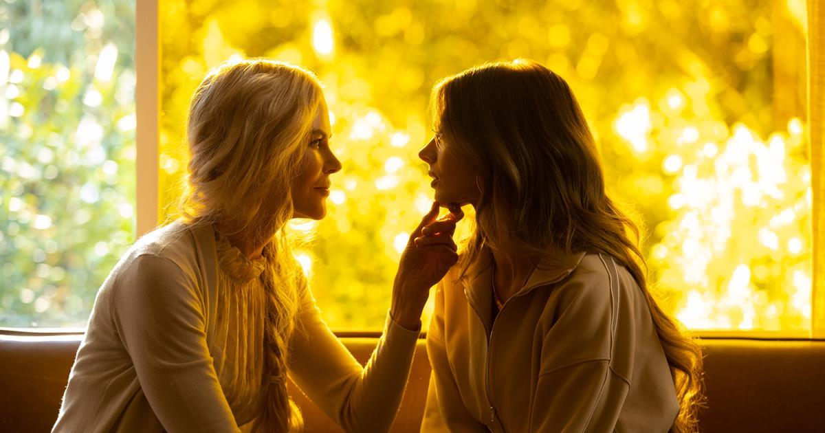 "Nicole Kidman as Masha and Patten as Zoe in Episode 2 of ""Nine Perfect Strangers."" Cr: Vince Valitutti/Hulu"