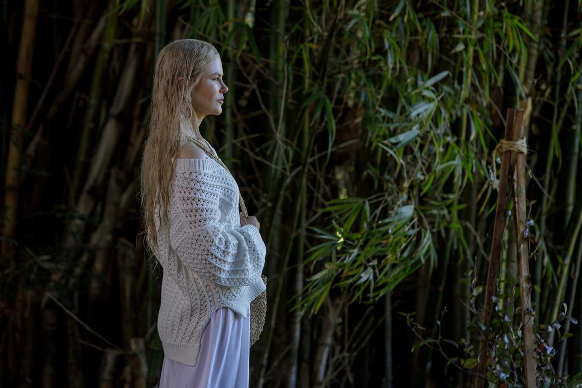 "Nicole Kidman as Masha in Episode 3 of ""Nine Perfect Strangers."" Cr: Vince Valitutti/Hulu"