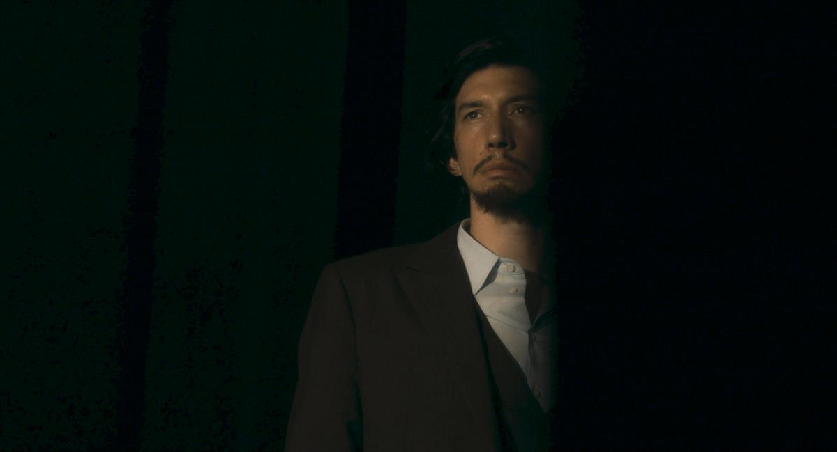 """Adam Driver as Henry McHenry in director Leos Carax's """"Annette."""" Cr: Amazon Studios"""