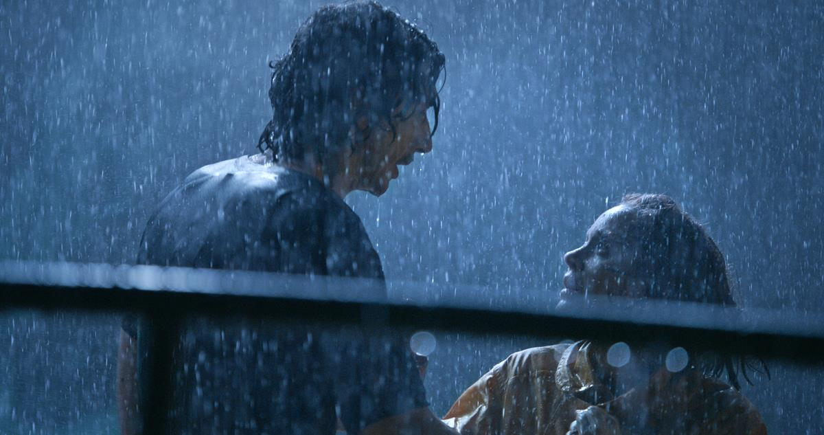 """Adam Driver as Henry McHenry and Marion Cotillard an Ann Defrasnoux in director Leos Carax's """"Annette."""" Cr: Amazon Studios"""