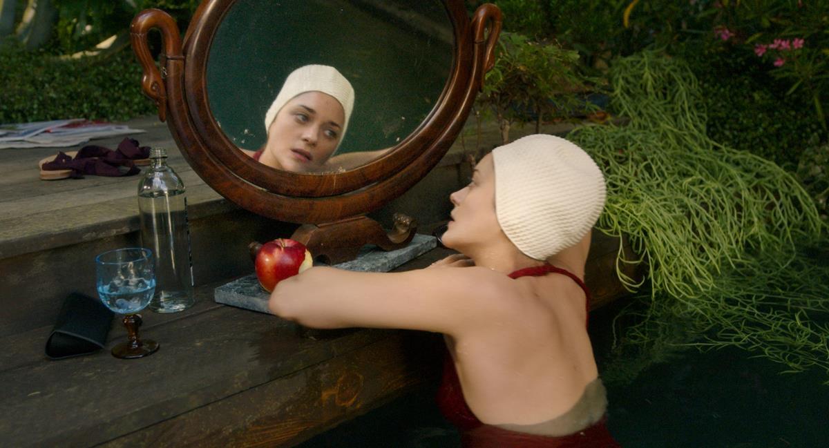 "Marion Cotillard as Ann Defrasnoux in director Leos Carax's ""Annette."" Cr: Amazon Studios"
