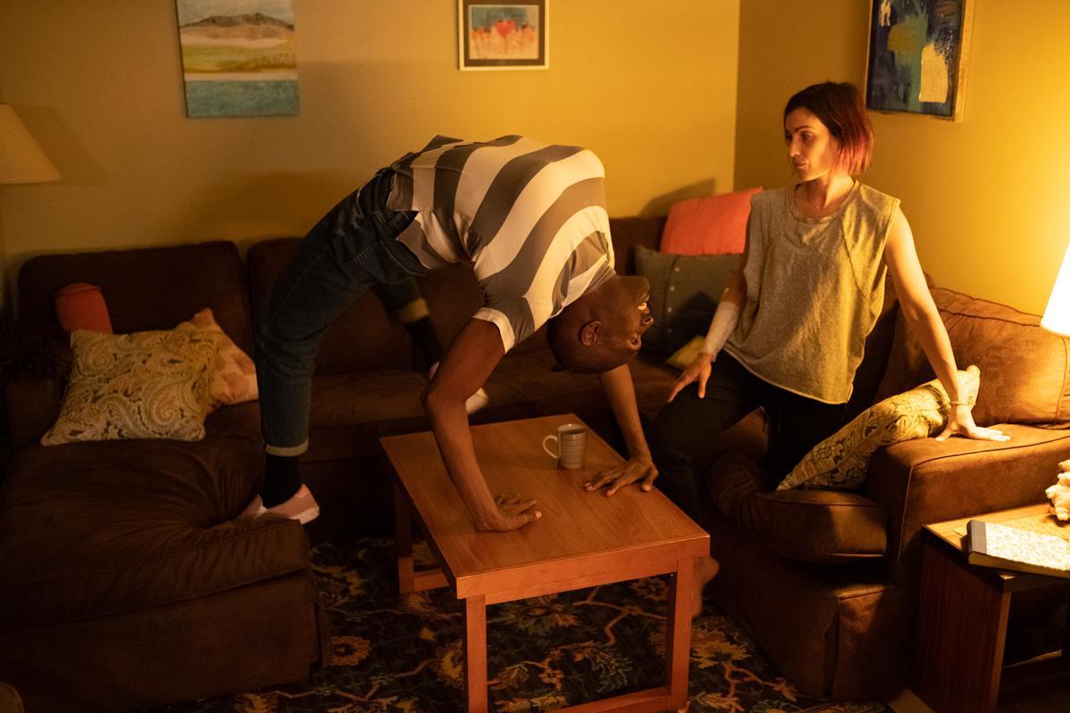 "Director Neill Blomkamp's ""Demonic."" Cr: IFC Midnight"