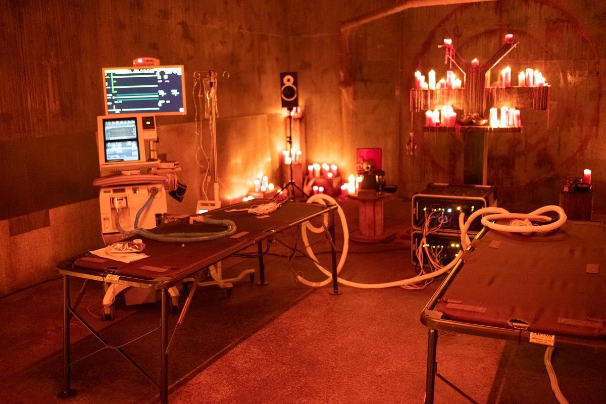 "On the set of director Neill Blomkamp's ""Demonic."" Cr: IFC Midnight"