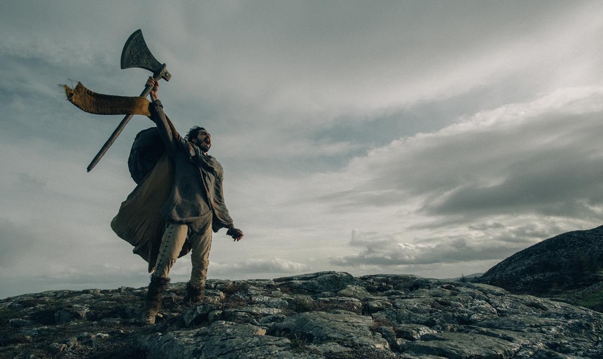 "Dev Patel in ""The Green Knight."" Cr: Eric Zachanowich/A24"