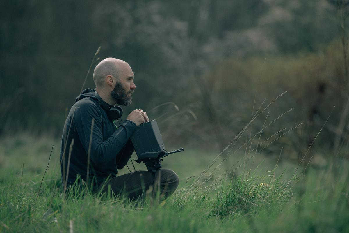 """""""The Green Knight"""" writer, director and editor David Lowery. Cr: Eric Zachanowich/A24"""