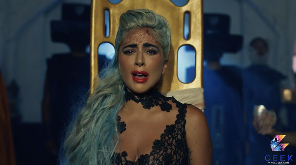 """Lady Gaga in """"911,"""" directed by Tarsem Singh. Cr: CEEK"""
