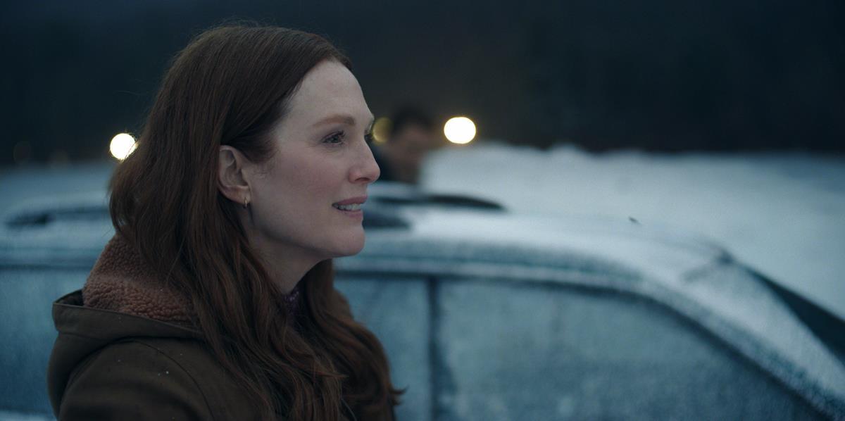 "Julianne Moore in ""Lisey's Story,"" now streaming on Apple TV+."