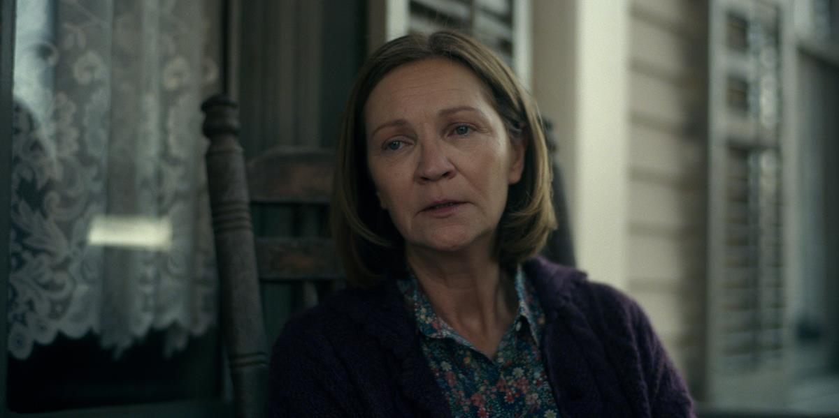 "Joan Allen in ""Lisey's Story,"" now streaming on Apple TV+."