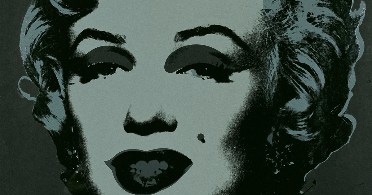 """""""Andy Warhol - Marilyn Monroe [1967]"""" by Gandalf's Gallery is licensed with CC BY-NC-SA 2.0. To view a copy of this license, visit https://creativecommons.org/licenses/by-nc-sa/2.0/"""