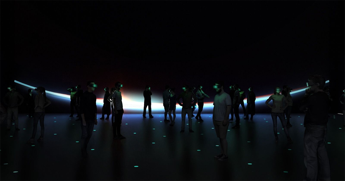 """From """"The Infinite,"""" a VR experience produced by Felix & Paul Studios and PHI Studio"""