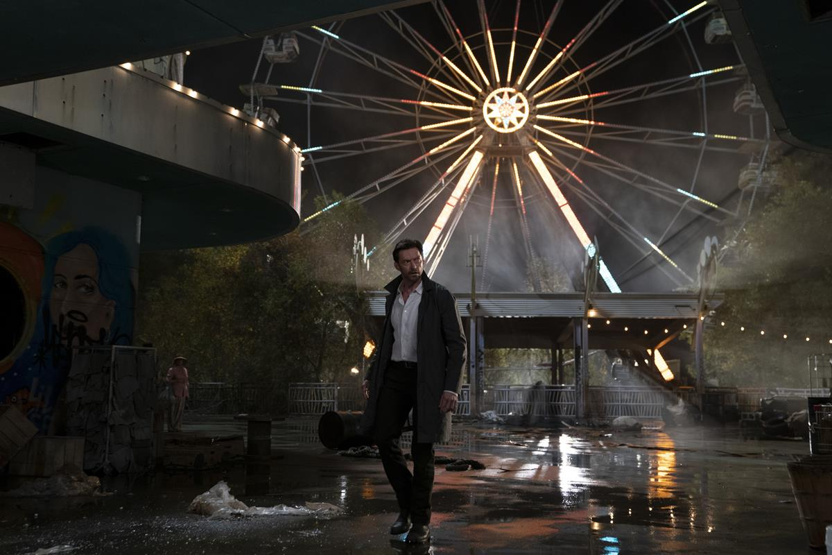 """Hugh Jackman as Nick Bannister in """"Reminiscence."""" Cr: Warner Bros. Pictures"""