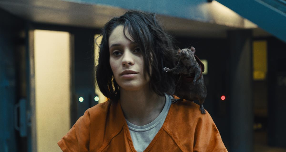 """Daniela Melchior as Ratcatcher 2 in director James Gunn's """"The Suicide Squad."""" Cr: Warner Bros. Pictures/DC Comics"""