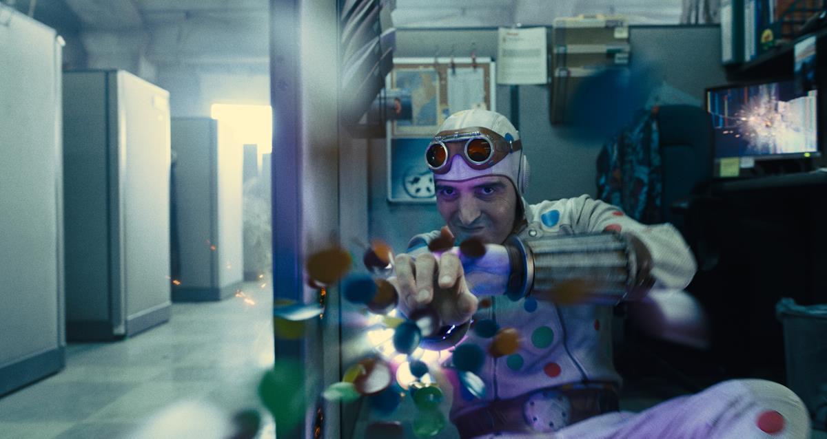 "David Dastmalchian as Polka-Dot Man in director James Gunn's ""The Suicide Squad."" Cr: Warner Bros. Pictures/DC Comics"