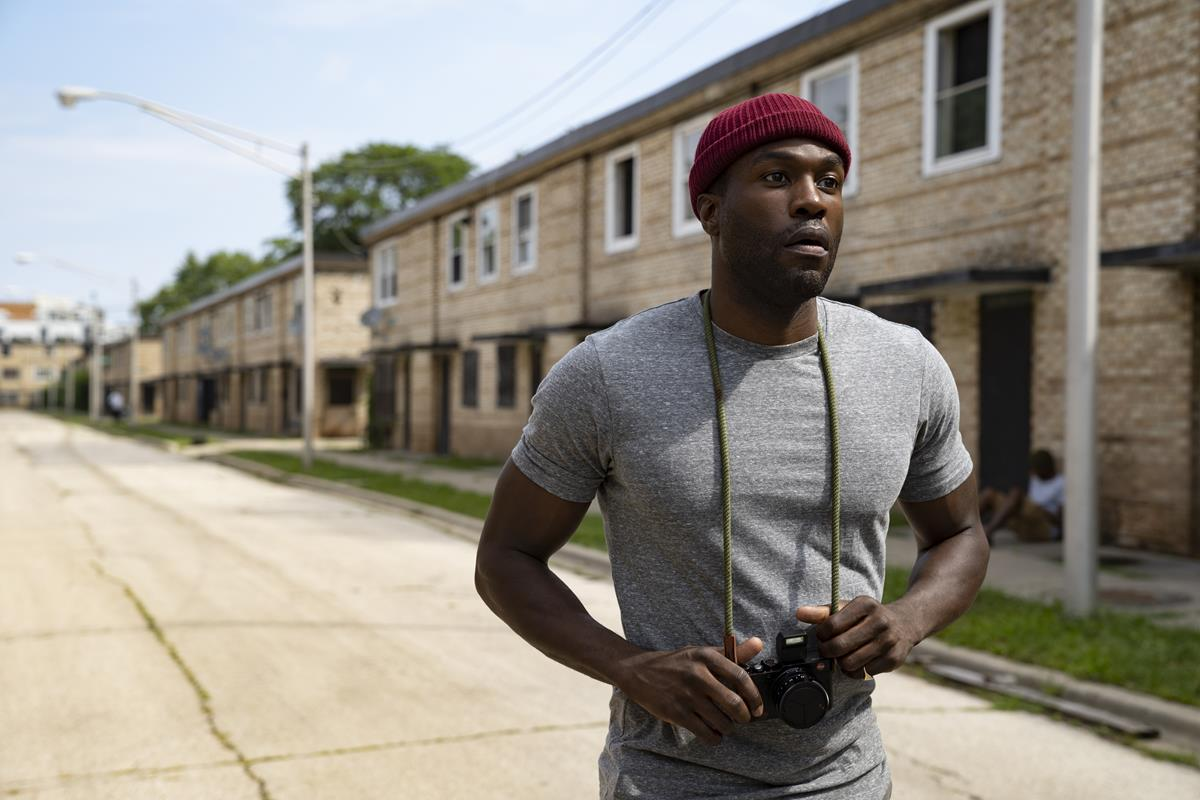 """Yahya Abdul-Mateen II as Anthony McCoy in """"Candyman."""" Cr: Universal Pictures"""