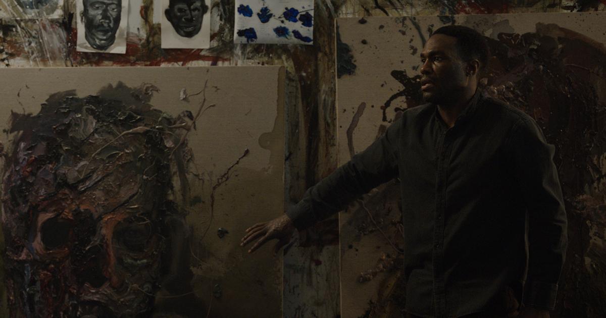 Anthony McCoy (Yahya Abdul-Mateen II) in Candyman, directed by Nia DaCosta.