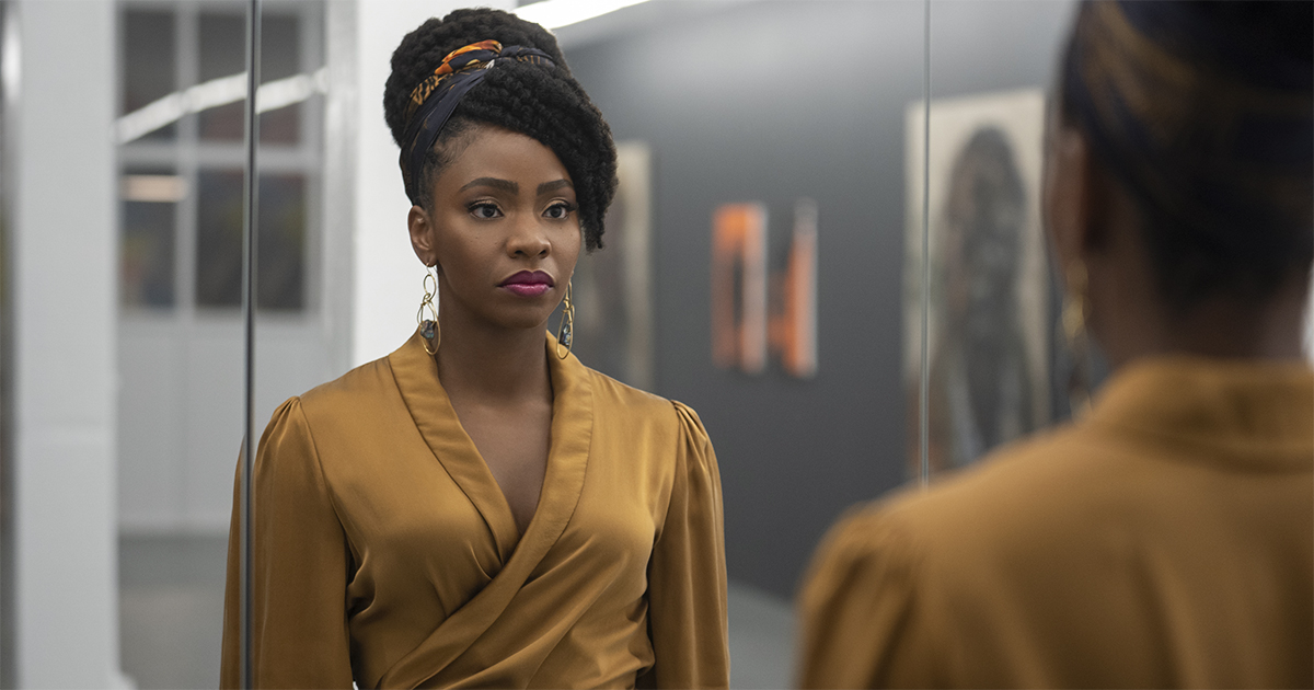 """Teyonah Parris as Brianna Cartwright in """"Candyman."""" Cr: Universal Pictures"""