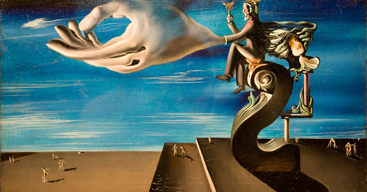 """""""'La main (Les remords de conscience), The Hand [Remorse]),' by Salvador Dali"""" by mark6mauno is licensed with CC BY-NC 2.0. To view a copy of this license, visit https://creativecommons.org/licenses/by-nc/2.0/"""