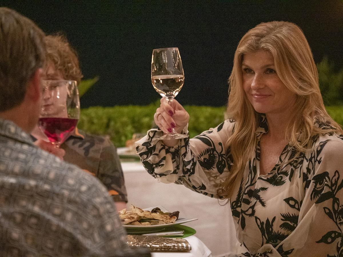 """Connie Britton as Nicole Mossbacher in Episode 2 of """"The White Lotus."""" Cr: HBO"""