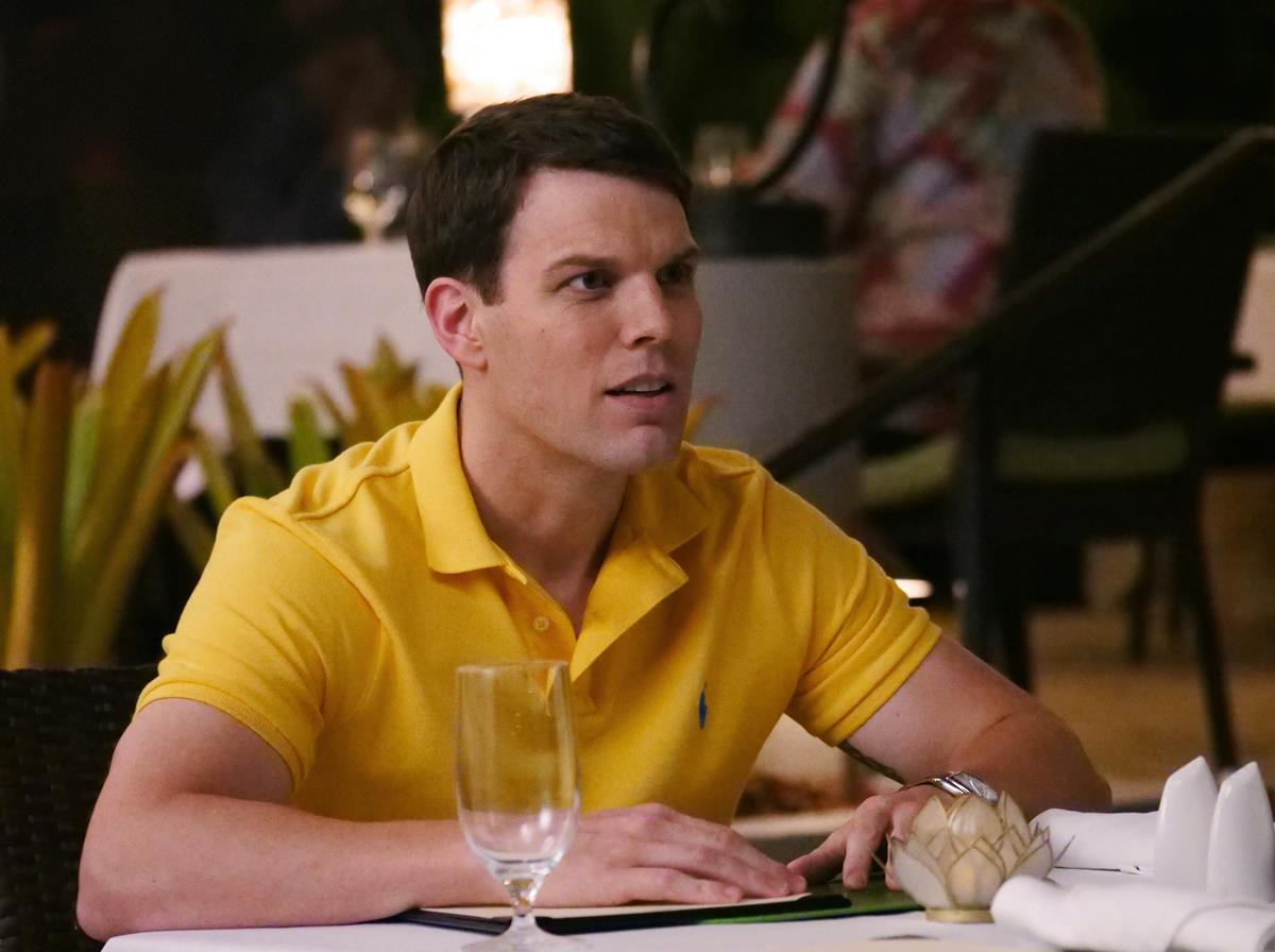 """Jake Lacy as Shane Patton in Episode 2 of """"The White Lotus."""" Cr: HBO"""