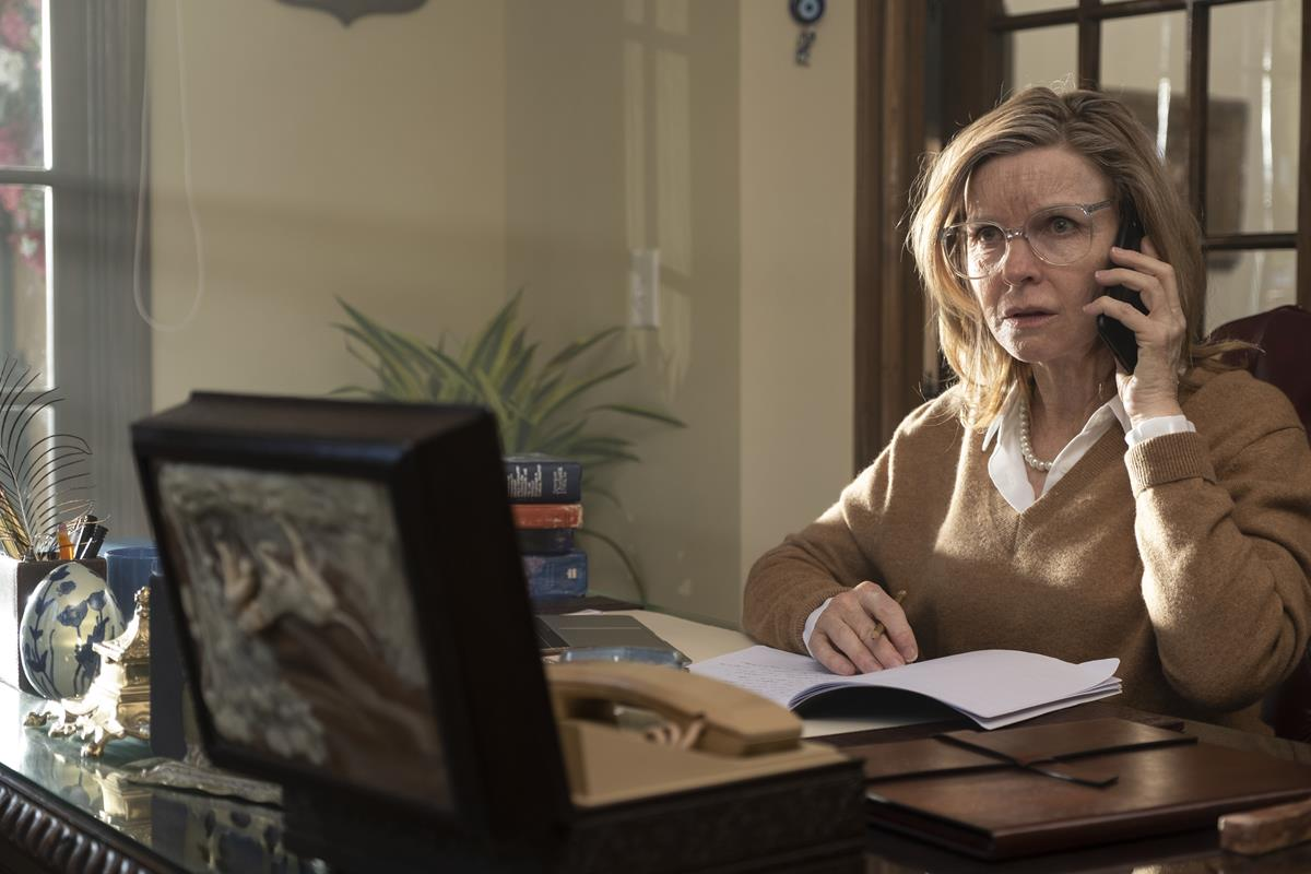 """Jacqueline McKenzie as Dr. Florence Weaver in """"Malignant."""" Cr: Warner Bros. Pictures"""
