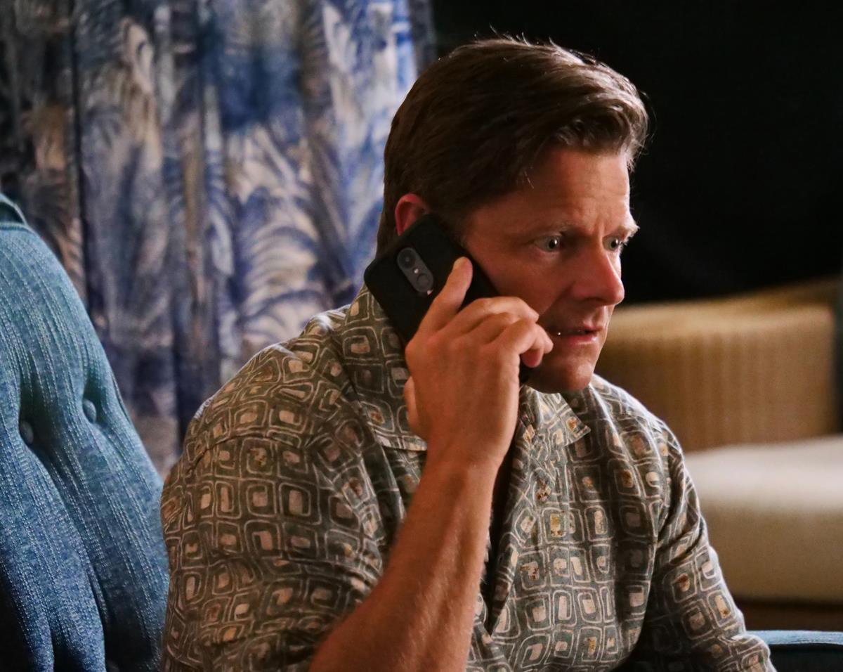 "Steve Zahn as Mark Mossbacher in Episode 2 of ""The White Lotus."" Cr: HBO"