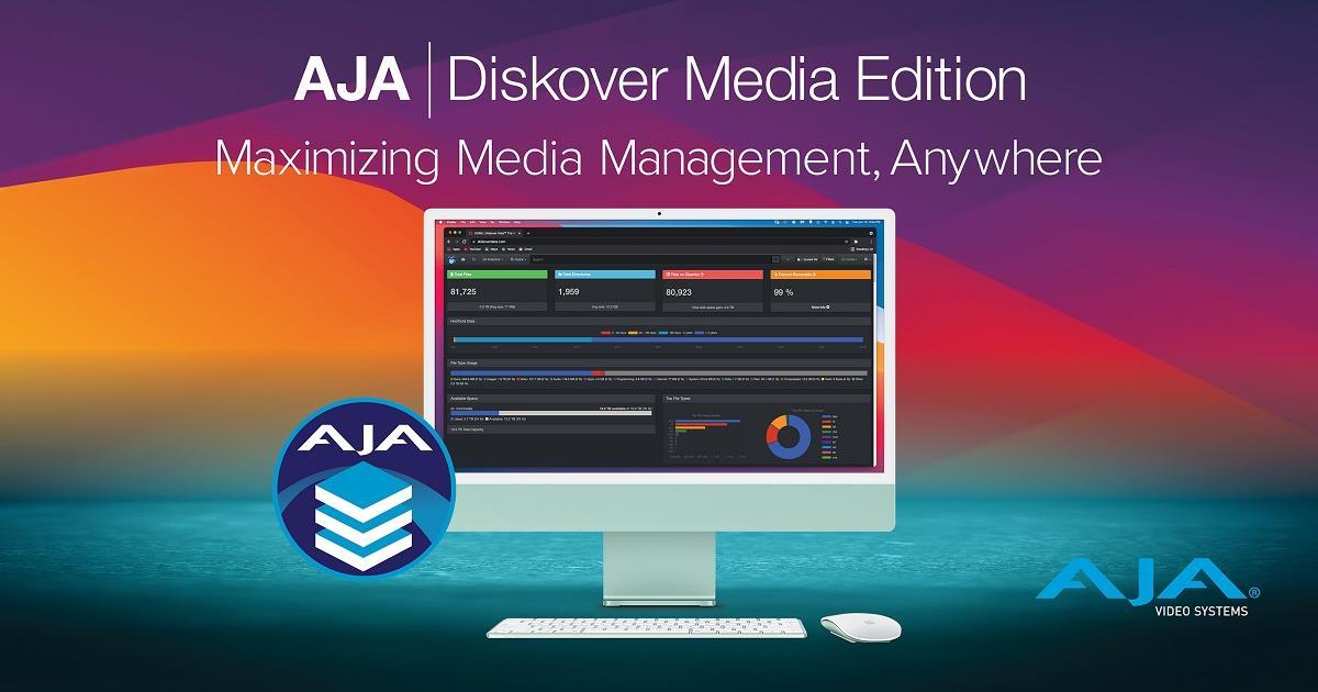 AJA Diskover Media Edition. Cr: AJA Video Systems