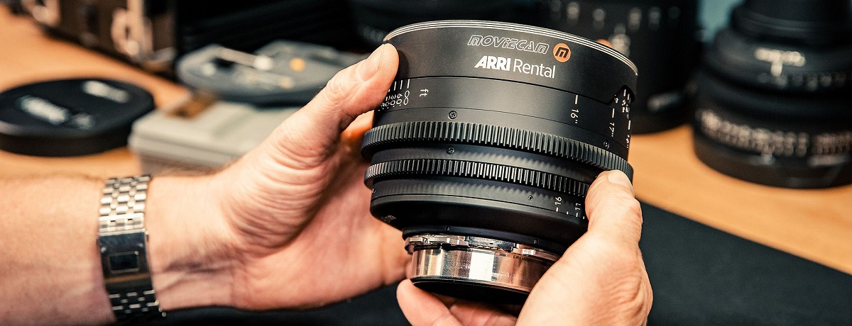ARRI Rental Moviecam lenses combine vintage glass and a cinematic backstory with modern, high-performance lens housings. Cr: ARRI Rental