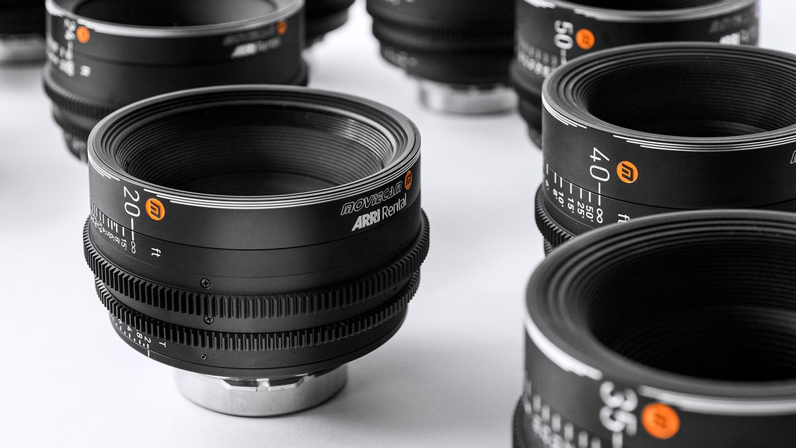 ARRI Rental Moviecam lenses. Cr: ARRI Rental