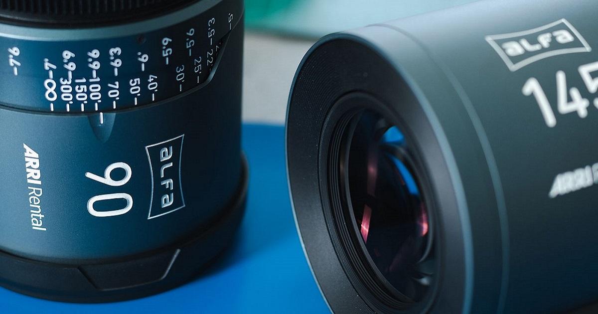 ARRI ALFA large-format lenses offer a softer, more textured feel than Master Anamorphics. Cr: ARRI Rental