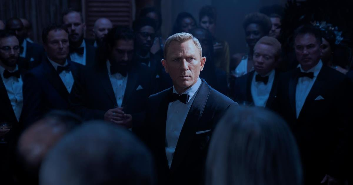 """Daniel Craig as James Bond in """"No Time To Die."""" Cr: MGM"""