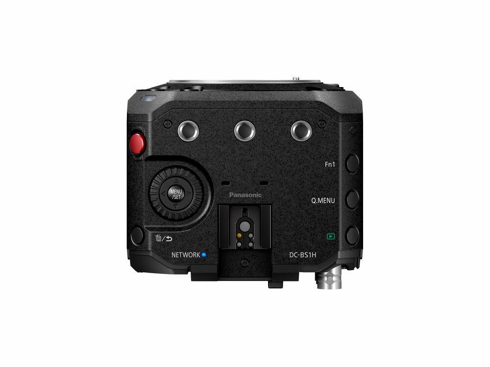 Panasonic's LUMIX BS1H full-frame box-style live and cinema camera