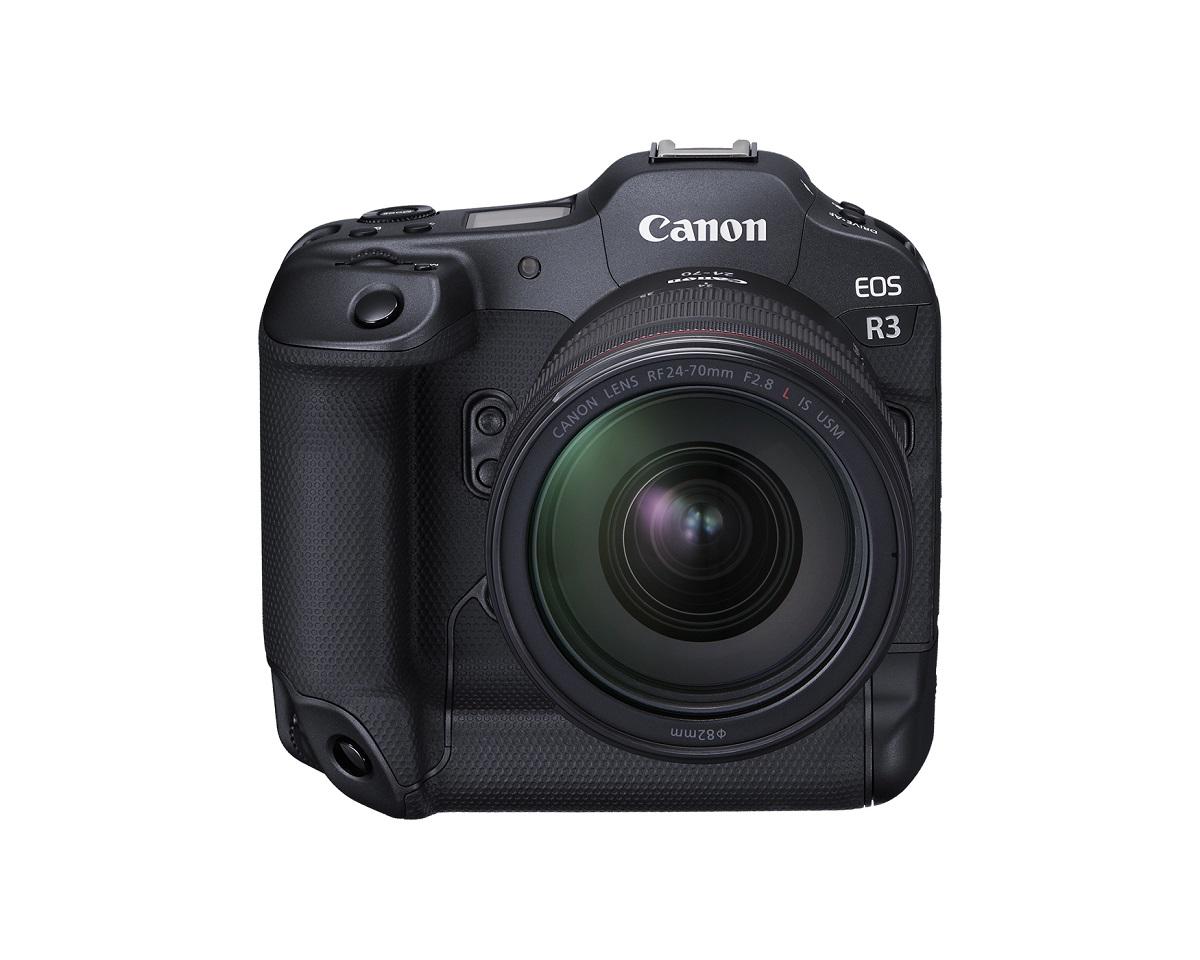 The new Canon EOS R3. Cr: Canon
