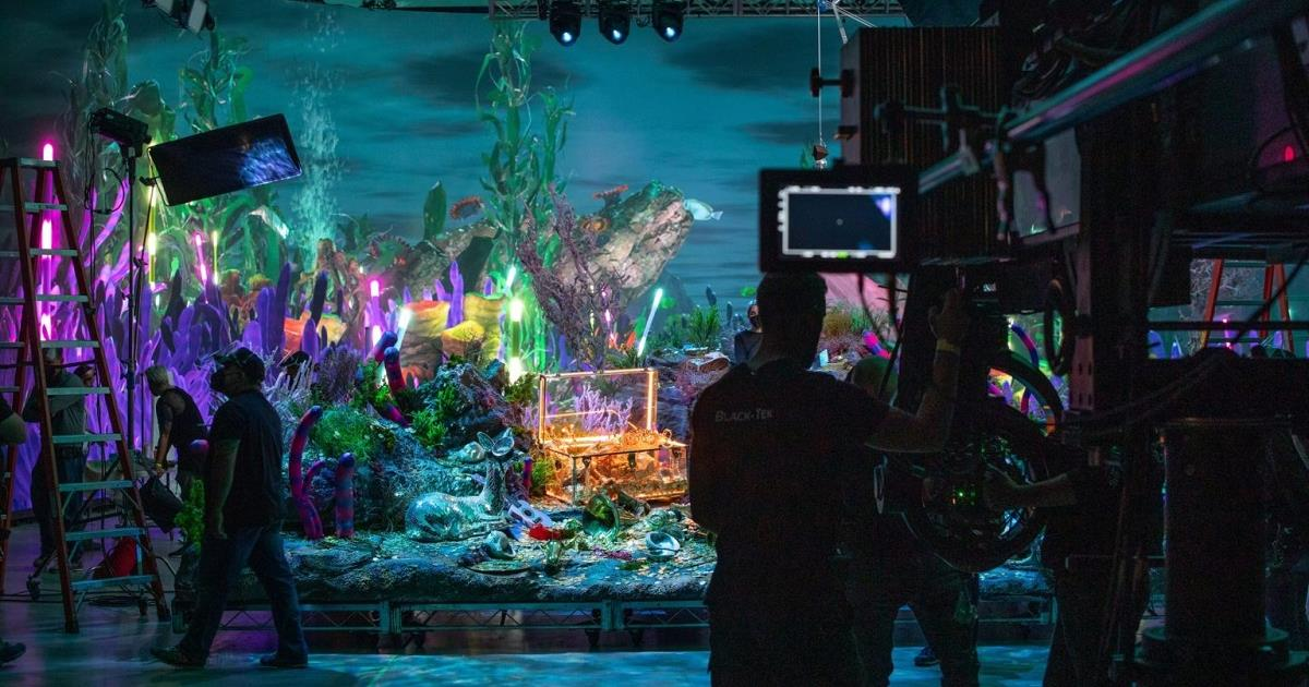 Virtual production is becoming accessible to a broader range of production budgets. Image courtesy of Silverdraft