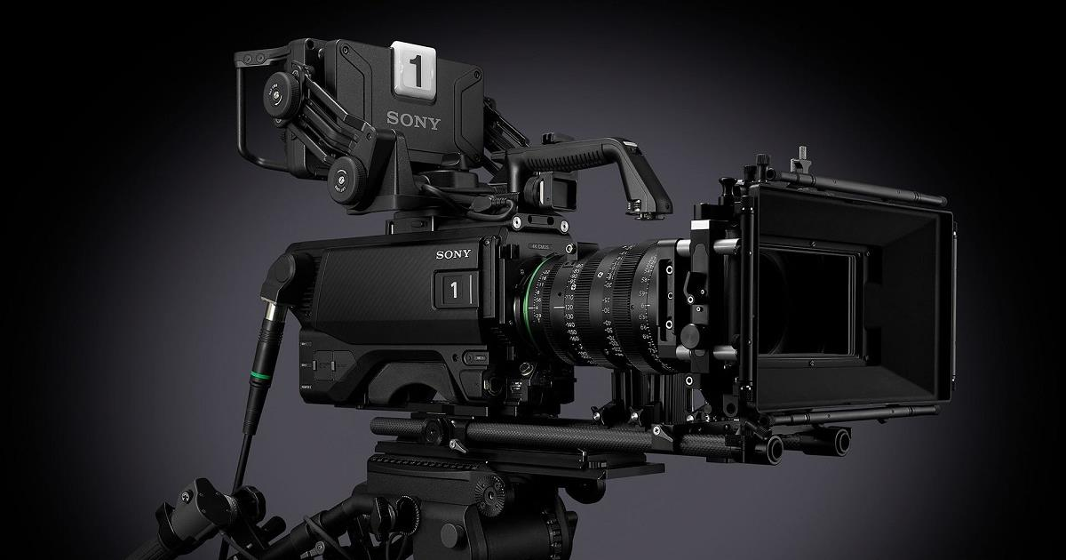 Available in December, the new Sony HDC-F5500 has a Super 35mm, 4K CMOS global shutter image sensor that enables shallow depth-of-field. Cr: Sony